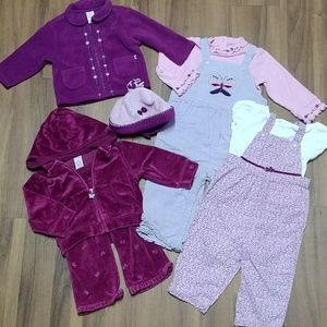 Butterfly Overalls Tracksuit Jacket Hoodie Top